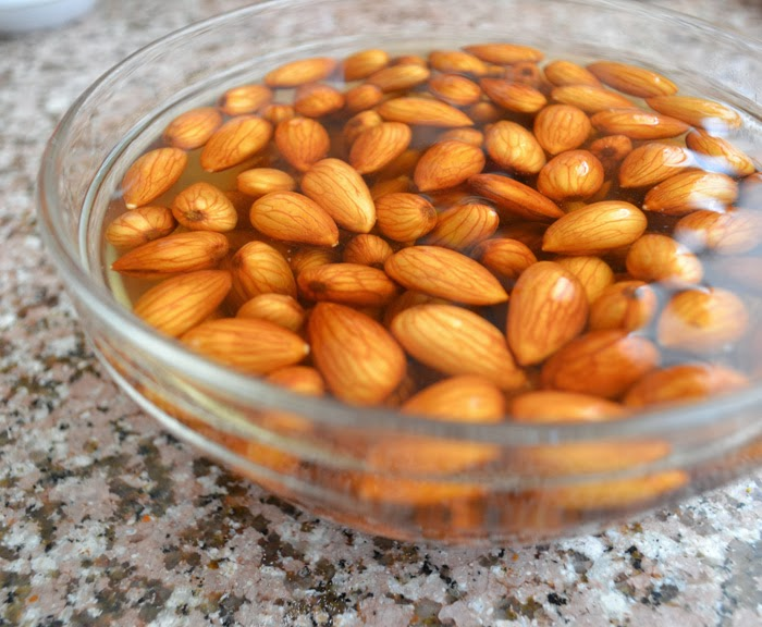 Easy Peeling of Almonds