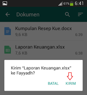 WhatsApp merupakan salah satu aplikasi messenger yang semakin terkenal dan banyak digunaka Cara Mengirim File Dokumen Di WhatsApp