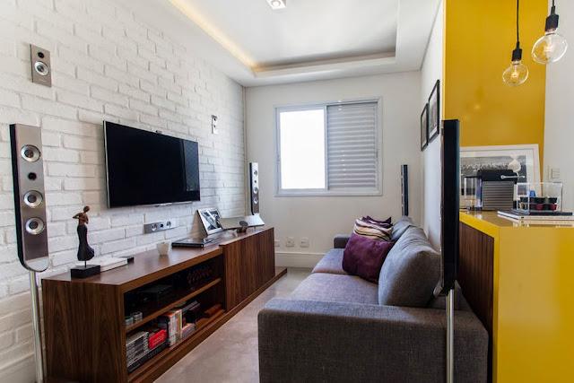 decoração apartamentos pequenos, apartamento decorado, blog achados de decoração