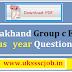 uttarakhand group c question paper 2019