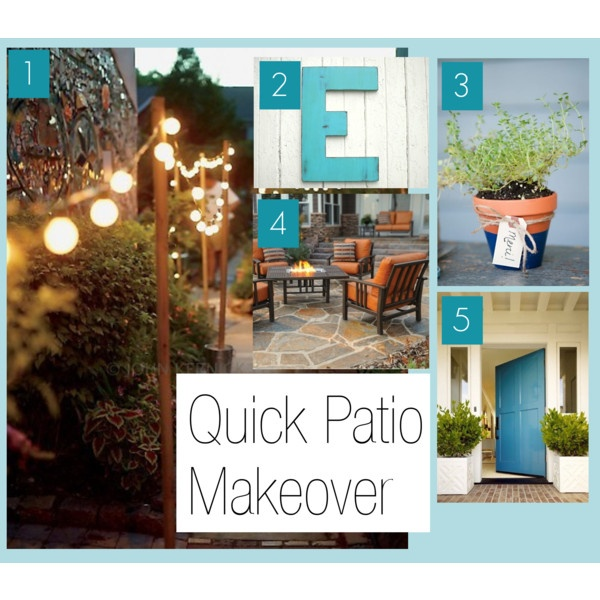 Craftivity Designs: A Quick Patio Makeover