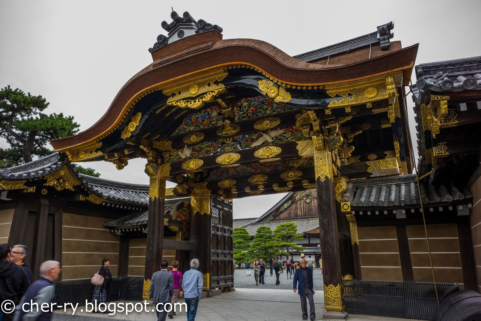 Life Of A Lil Notti Monkey Nijo Castle Kyoto