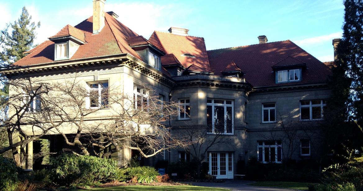 Rainy Day Portland Pittock Mansion Walk Down The West Hills