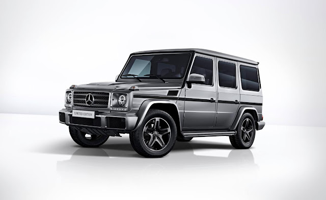 Mercedes-Benz ends first-generation G-Class production after nearly 40 years; three special edition models announced Onlinelatesttrends