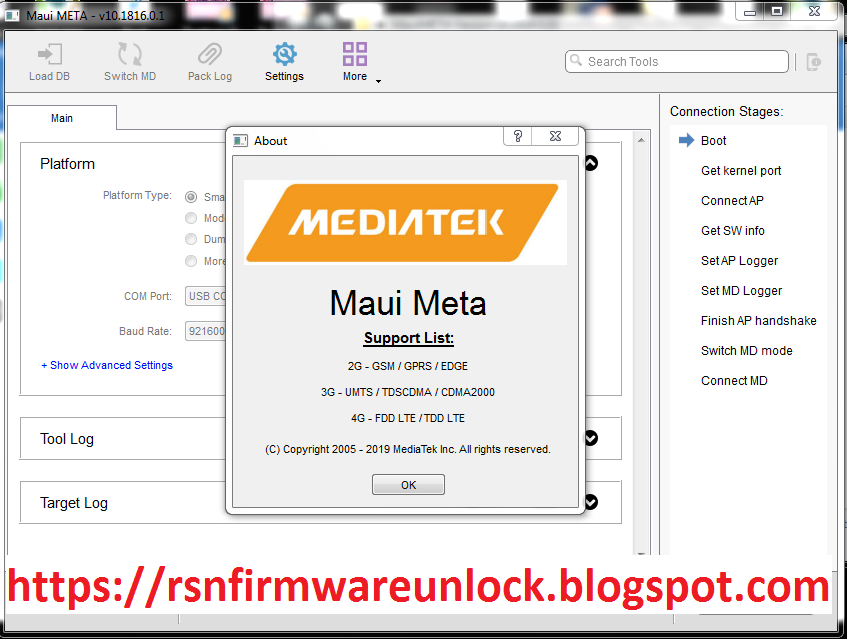 MTK Processor IMEI Repair NEW TOOL - rsnfirmwareunlock