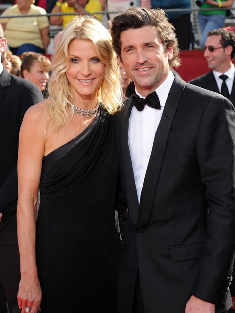 Non- Celebrate, married Star - Patrick Dempsey and Jillian ...