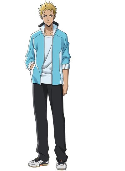 ทาจิบานะ เคนทาโร่ (Tachibana Kentarou) @ Hanebad! นักแบดสาวจอมพลัง (The Badminton Play of Ayano Hanesaki!: はねバド!)