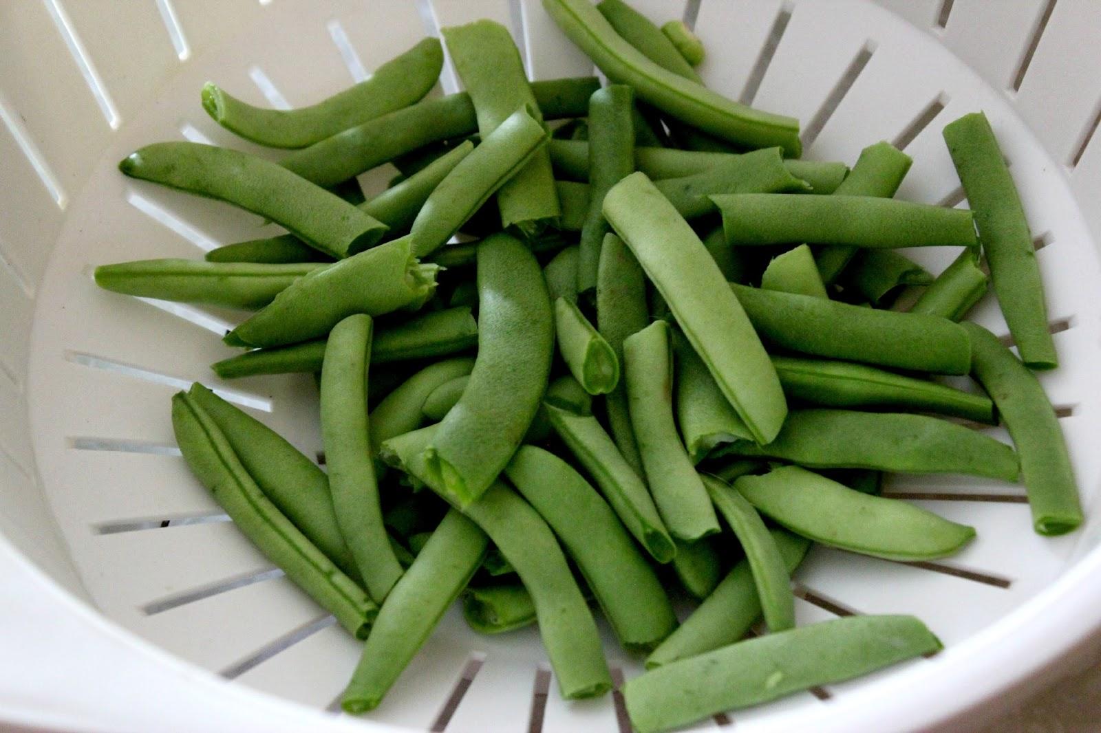 My First Pressure-Canning Adventure: Fresh Garden Green Beans