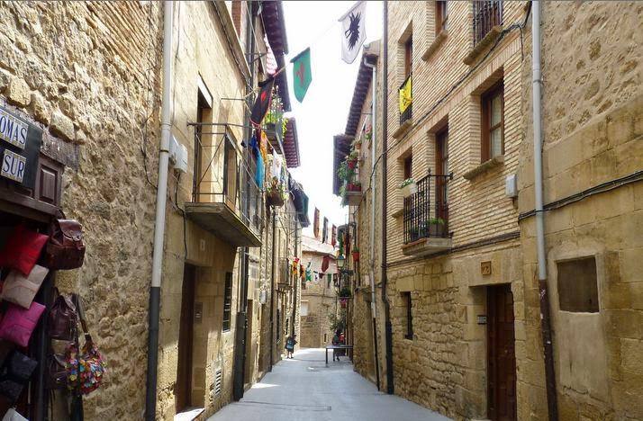 Callejones de Laguardia.