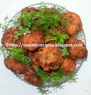 Chana Dal Vada Recipe in marathi