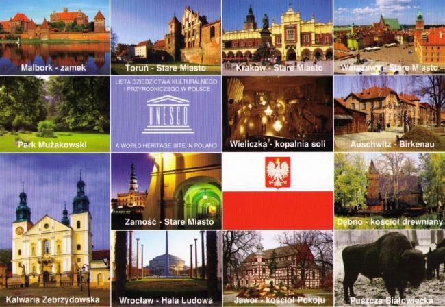 Польша объекты ЮНЕСКО