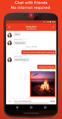 FIre chat android iphone app download link