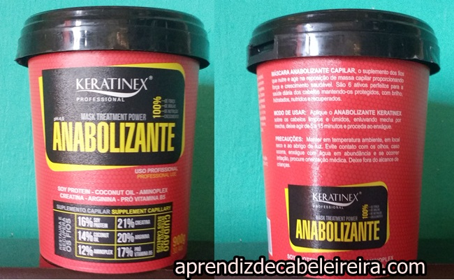 Anabolizante Capilar Keratinex
