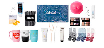 "What products of the Winter 2017 Fab Fit Fun subscription box are a hit or a miss? How many ""fab"", ""fit"", and ""fun"" products do you actually get? I'm answering both these questions by taking a look back at my last 3 boxes - Spring 2018, Winter 2017, and Fall 2017 and talking about whether or not Fab Fit Fun is still worth it. lifestyle blog. 