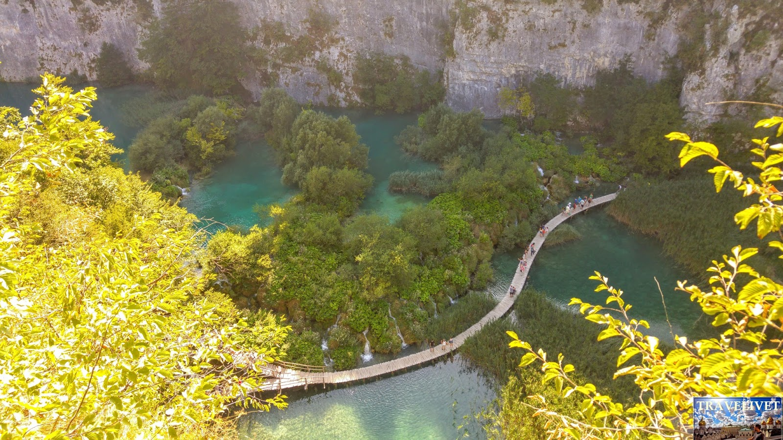 Croatie Parc de Plitvice