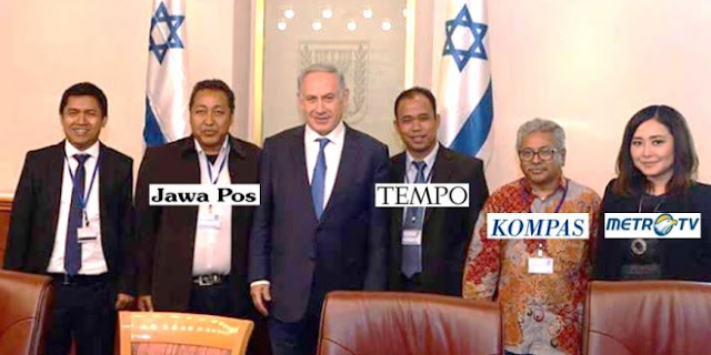 wartawan ini bertemu perdana menteri israel