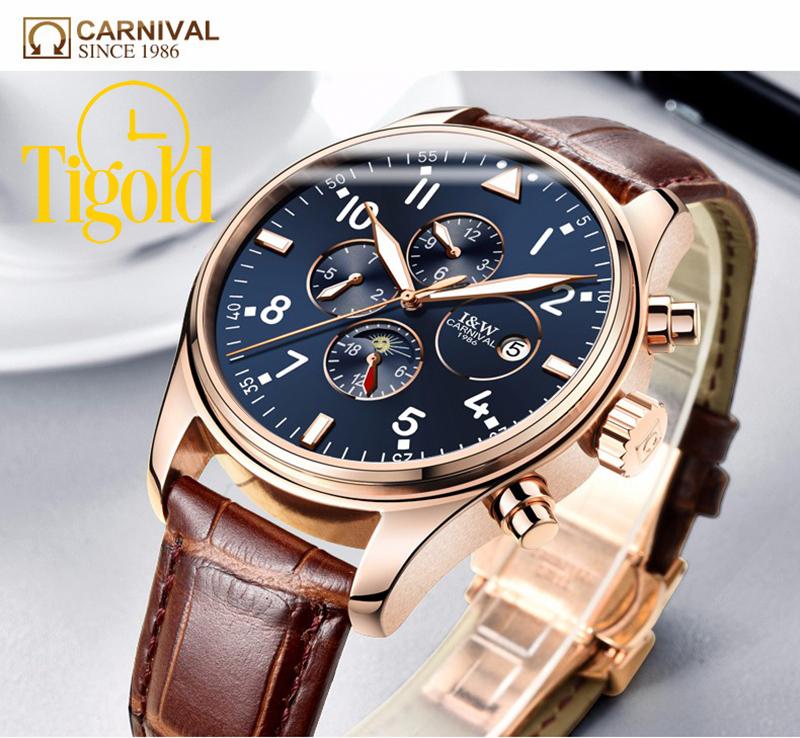 mua đồng hồ đeo tay nam carnival