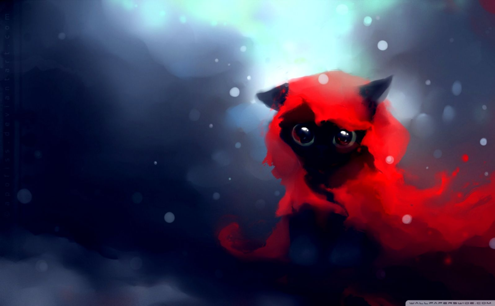 Art Cat Black Hd Wallpaper Gabybarrosv