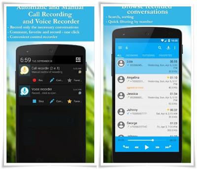 Aplikasi merekam telepon