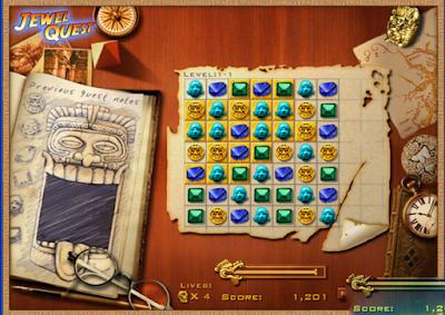瑪雅寶石(Jewel Quest),瑪雅遺跡為背景的益智消除!