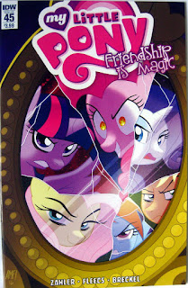 IDW MLP comic issue #45, main cover