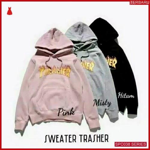 SCP038S30 Sweater Trasher Babyterry Outerwear Wanita | BMGShop