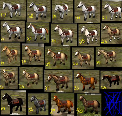 40 Basic Horse Skin AOTTG - Normal Horse Type To All Country