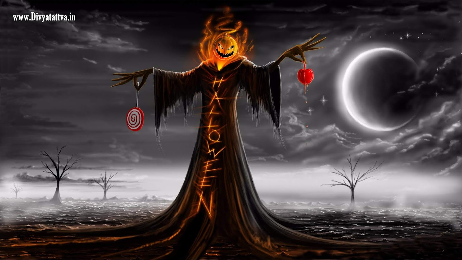 halloween hd widescreen wallpaper photos pictures creepy spooky images festival christian www.divyatattva.in