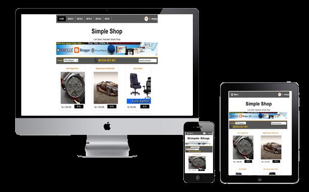 simple shop free responsive