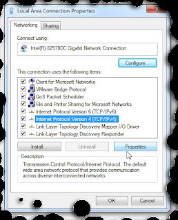 Cara setting ip address di komputer win 7,win xp dan vista