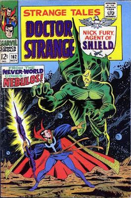 Strange Tales #162, Dr Strange vs Nebulos
