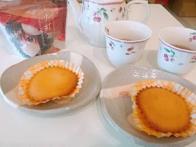 モナ紅茶とマドレーヌの優雅な朝