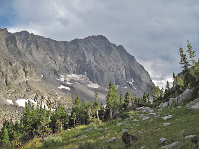 Capitol Peak in the Elk Mountains of Colorado