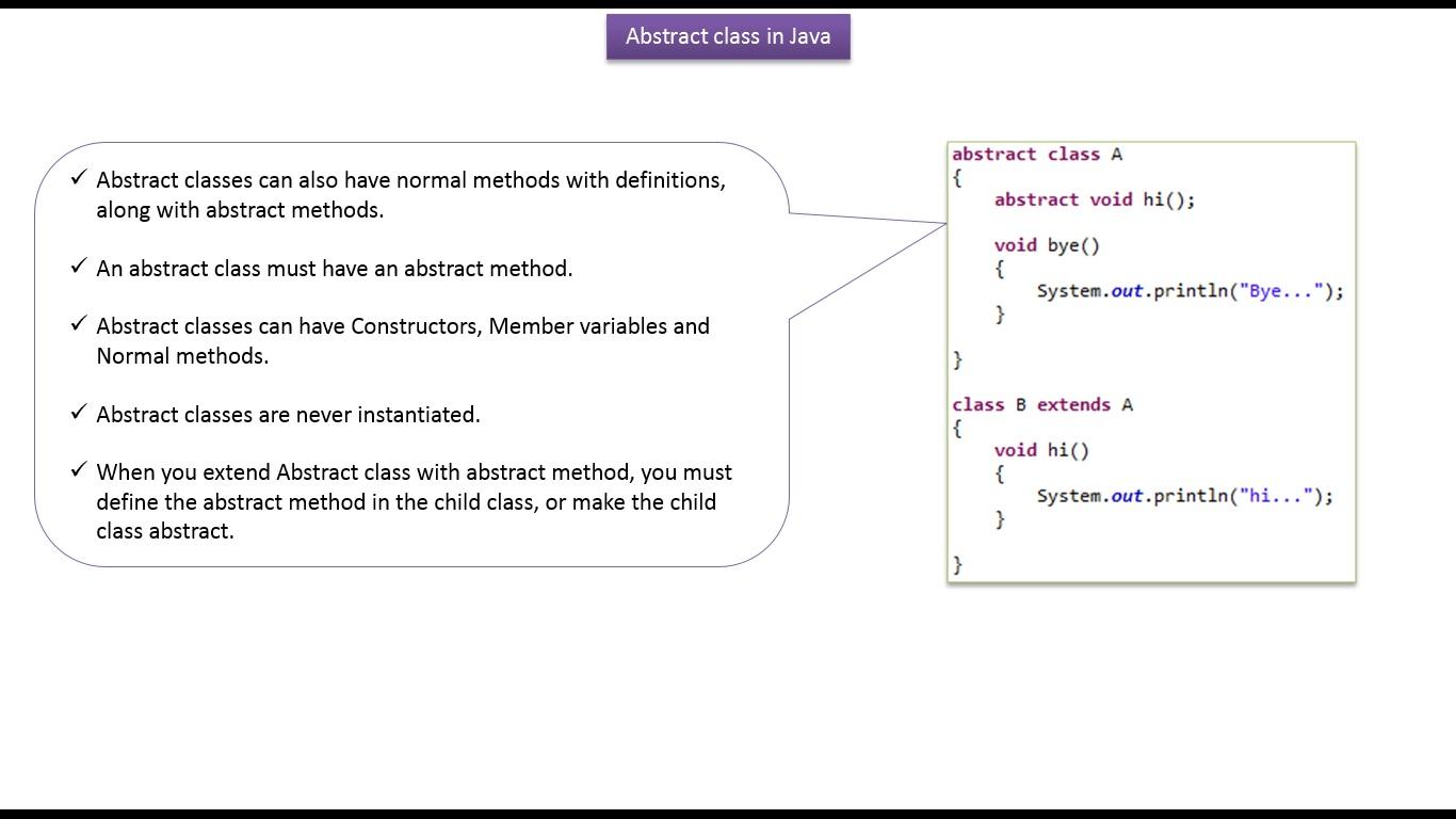 Java ee java tutorial java abstract classnormal method java tutorial java abstract classnormal method baditri Gallery