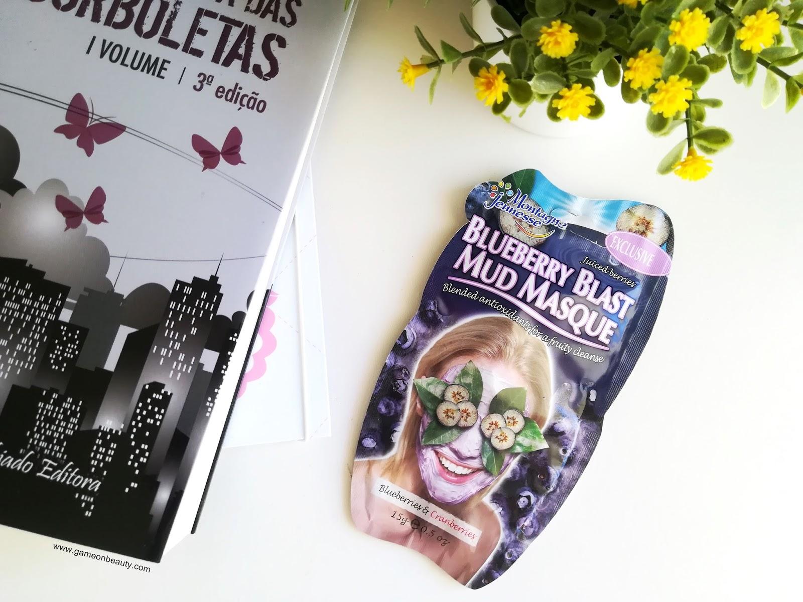 Máscara de argila hidratante e revitalizante