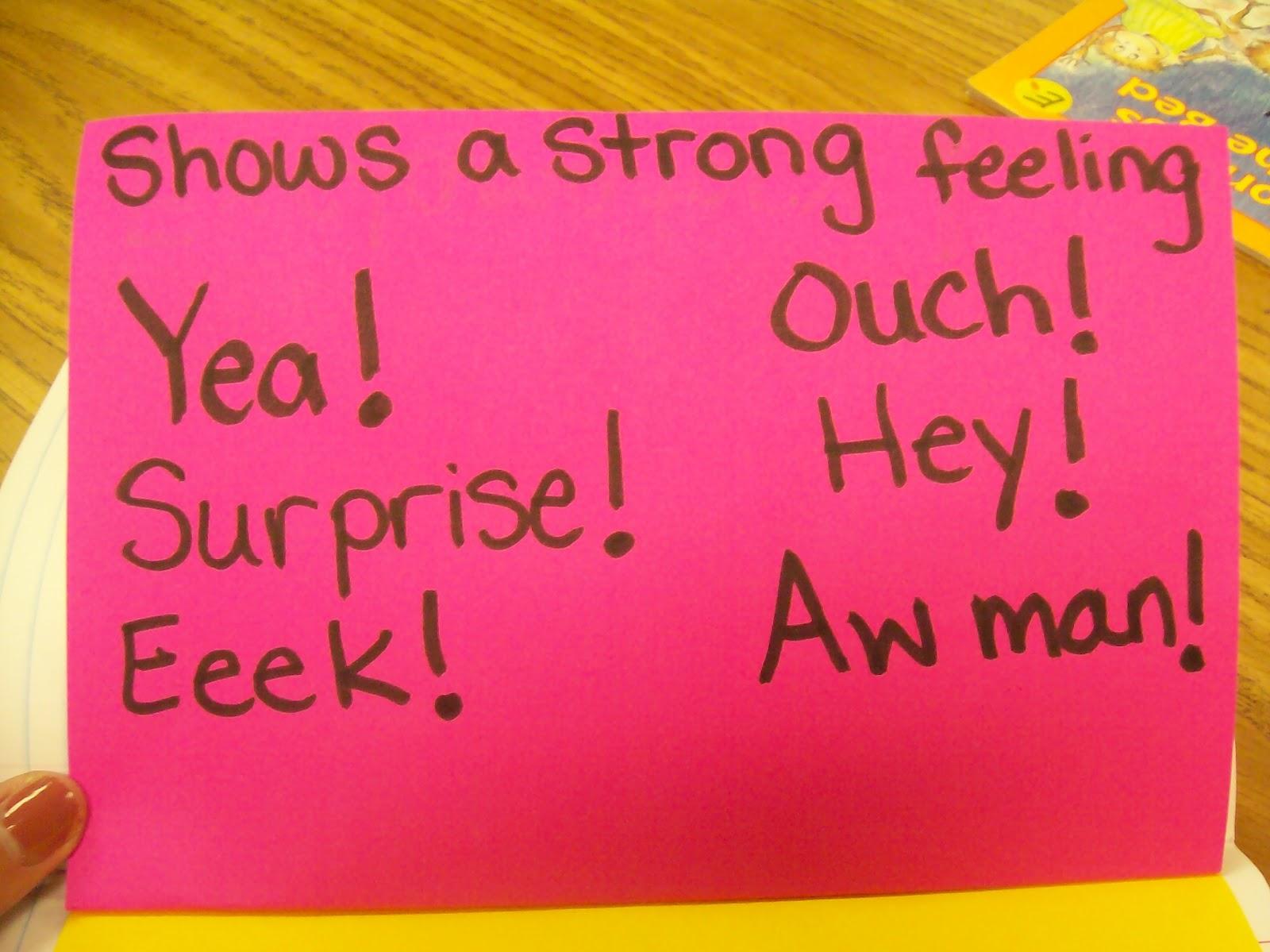 Third Grade Thinkers Types Of Sentences