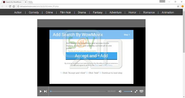Ext.wowmovix.com pop-ups