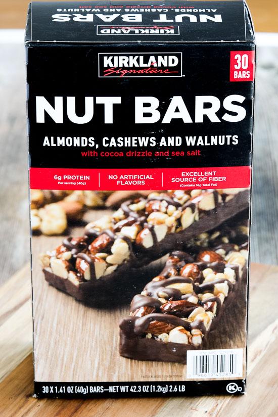 Kirkland Nut Bars featured for Kalyn's Kitchen Picks on KalynsKitchen.com
