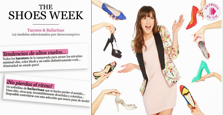 Especial the Shoes Week en Showroom