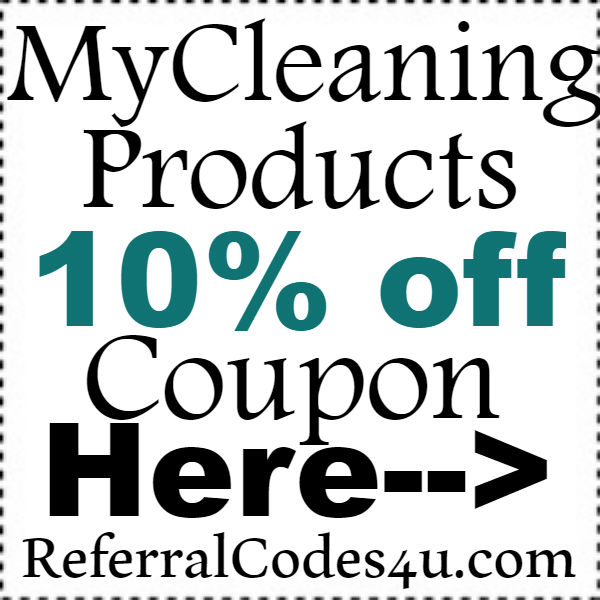MyCleaningProducts.com Discount Codes 2016-2021, MyCleaningProducts Free Shipping Coupon October, November, December