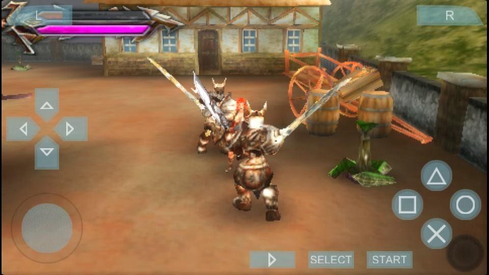 tehra dark warrior psp mini iso/cso