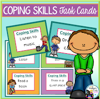 Coping Skills Task Cards