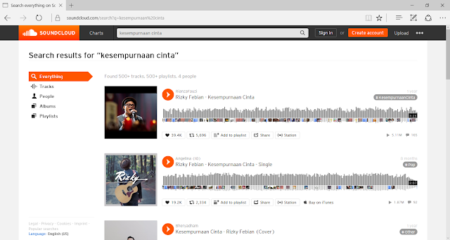 Cara Download Lagu Soundcloud Tanpa Software