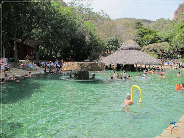 Piscina exclusiva para hóspedes, no Parque das Fontes