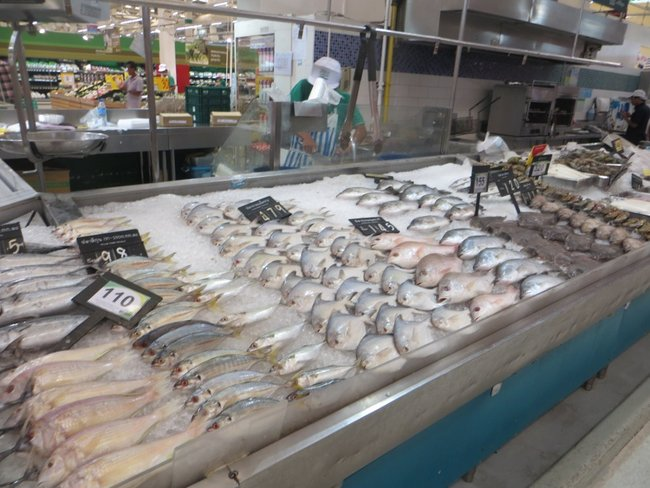 Дорогая рыба в Таиланде
