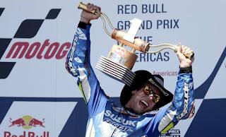 MOTO GP - Marc Márquez se cae y Álex Rins se llevó la victoria en Austin