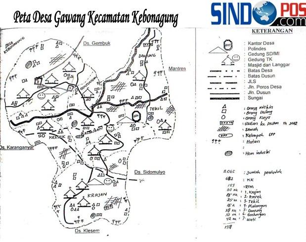 Profil Desa & Kelurahan, Desa Gawang Kecamatan Kebonagung Kabupaten Pacitan