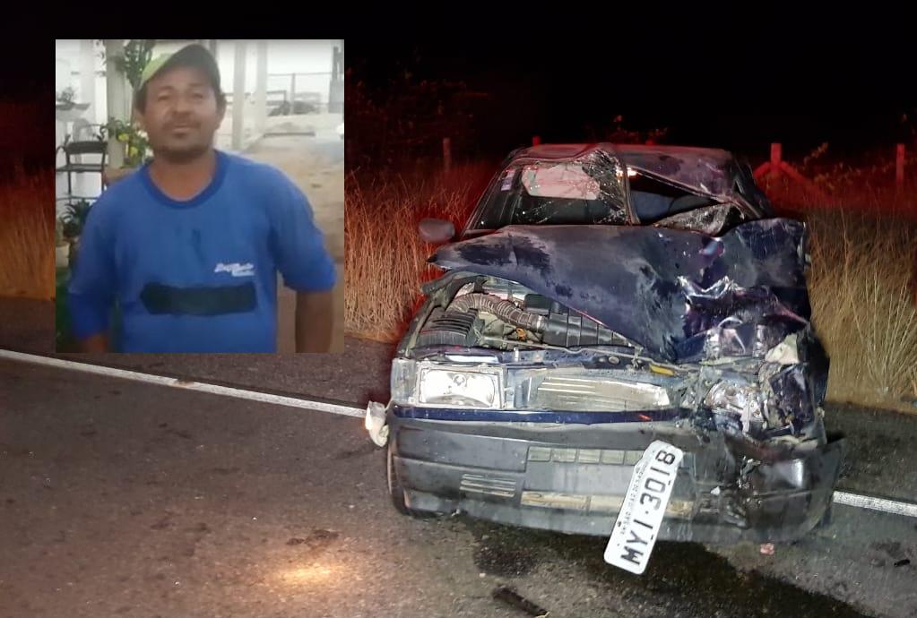 Vídeo mostra vítima momentos antes de morrer após sofrer acidente próximo a Quixaba