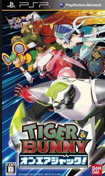 Download Tiger And Bunny - On-Air Jack PSP PPSSPP