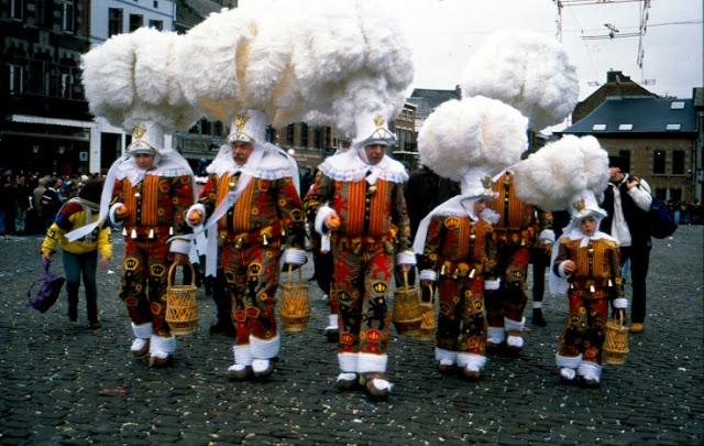 Gillles del carnaval de Binche